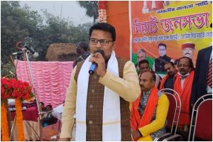 After Dilip Ghosh, another BJP MP's family takes TMC governement's Swasthya Sathi card
