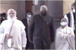 Mamata Banerjee steps down without speech at Netaji's birth anniversary celebration