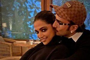 Ranveer Singh posts pic with 'Biwi No.1' Deepika Padukone