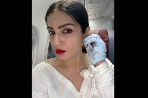 Raveena Tandon: Nowhere to go, nothing to do