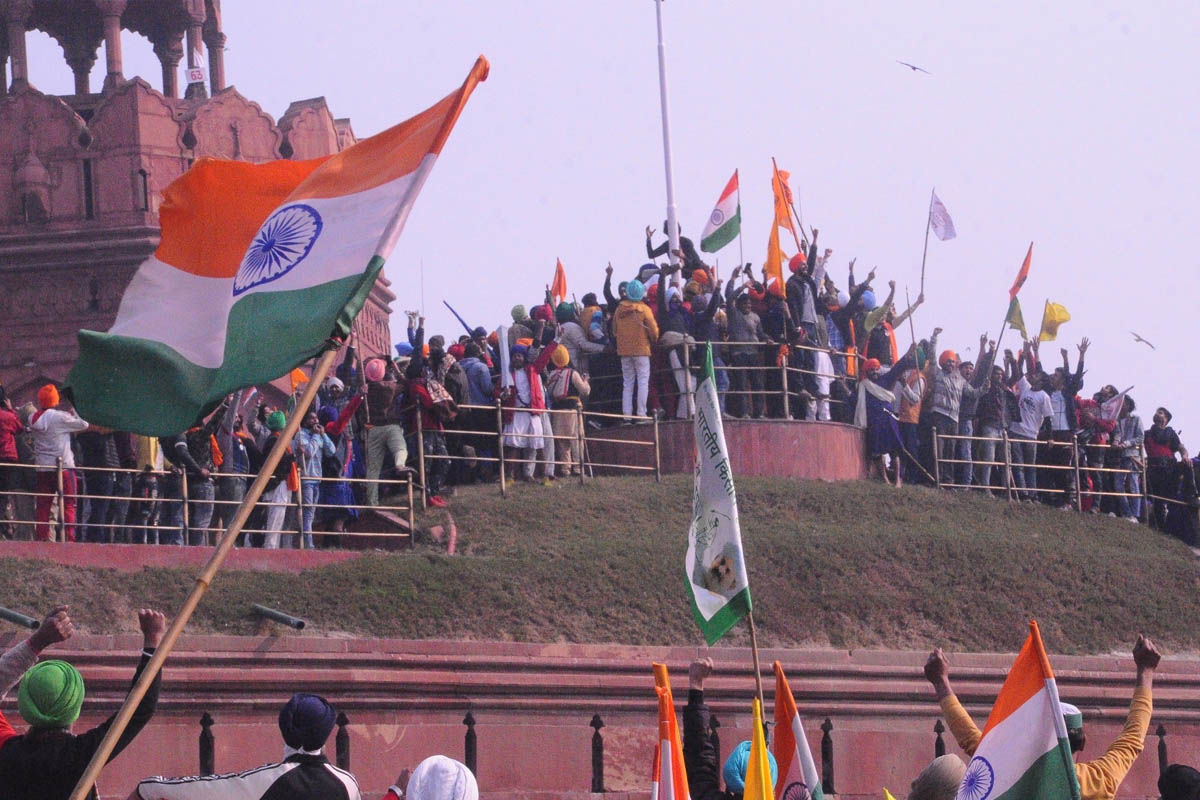 Republic Day, Tractor Rally violence, SA Bobde, NIA, Red Fort