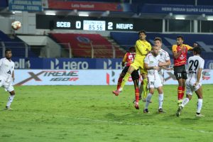 NorthEast United keep playoffs hope alive after 2-1 win over SC East Bengal
