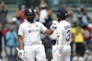 IND vs ENG: Rohit Sharma's 161, Ajinkya Rahane's 67 put India on driving seat on Day 1