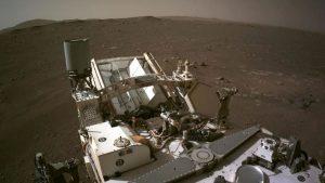 Mars rover landing, NASA, images