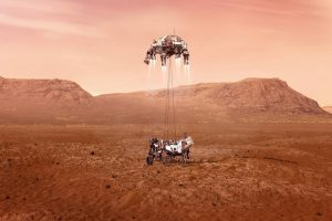 NASA's first Mars sample collection mission prepares to land