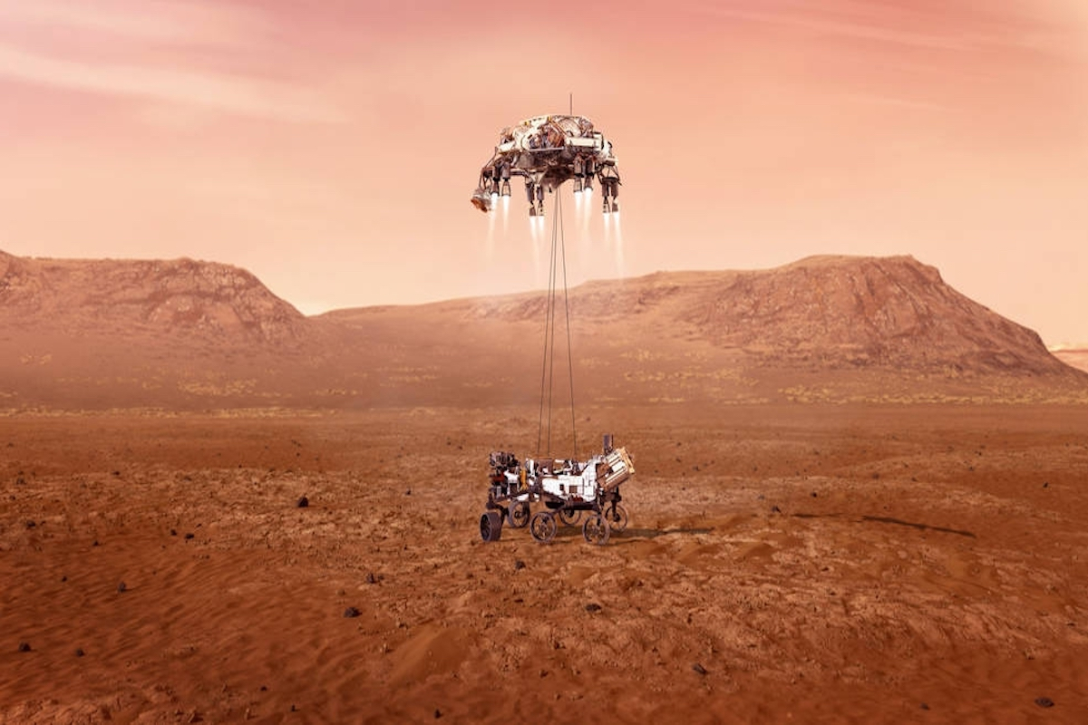 Mars sample collection mission