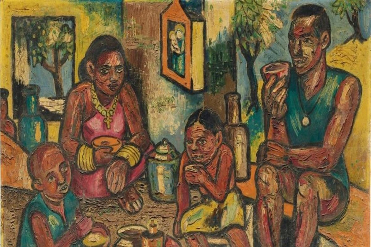 Major Indian artists, New York, art, paintings