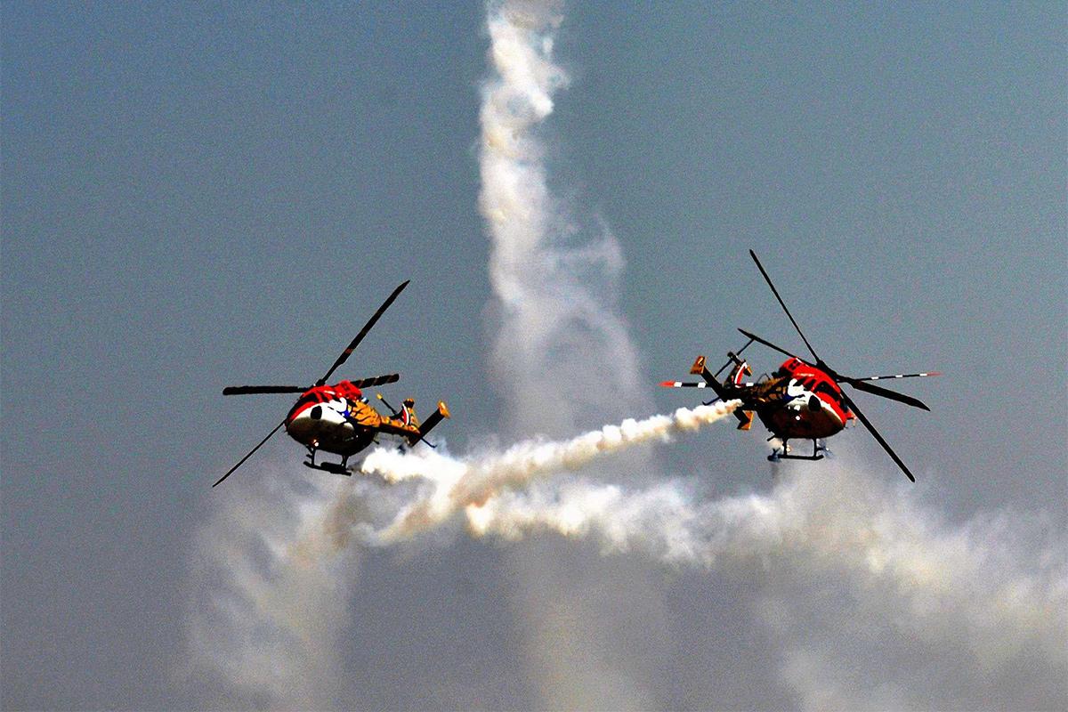 Hindustan Aeronautics Ltd, HAL, helicopter contract, Aero India