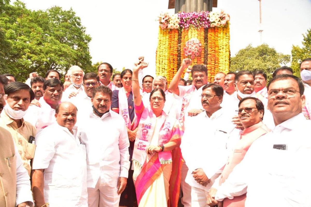 TRS chief K Chandrasekhar Rao, former Prime Minister PV Narasimha Rao, MLC elections, Surabhi Vani Devi,