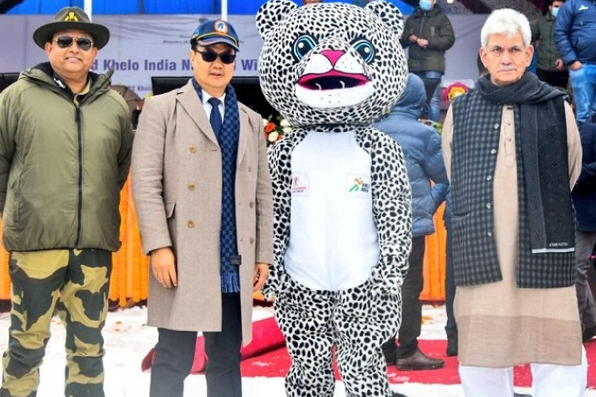 Khelo India Winter Games, Narendra Modi, Jammu and Kashmir, Manoj Sinha, Kiren Rijiju