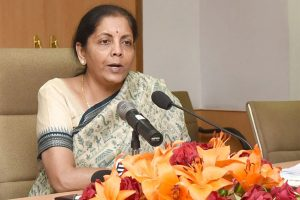 Budget set pace for self-reliant India: Sitharaman in LS