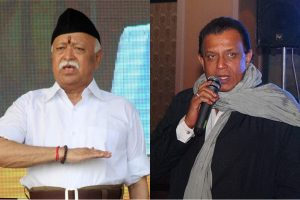 Mohan Bhagwat's meeting with Mithun Chakraborty raises rumours in West Bengal