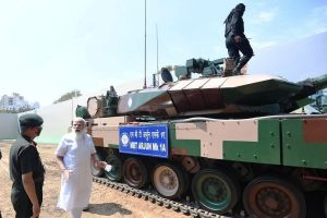 'Made in India' state-of-the-art battle tank Arjun Mark 1A handed over to Army