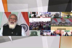 PM Modi launches 'Mahabahu-Brahmaputra', lays foundation stone of two bridges in Assam