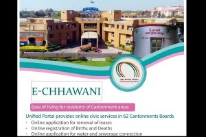 Rajnath Singh launches E-Chhawani portal and mobile app that provide online civic services to residents of 62 Cantonment Boards