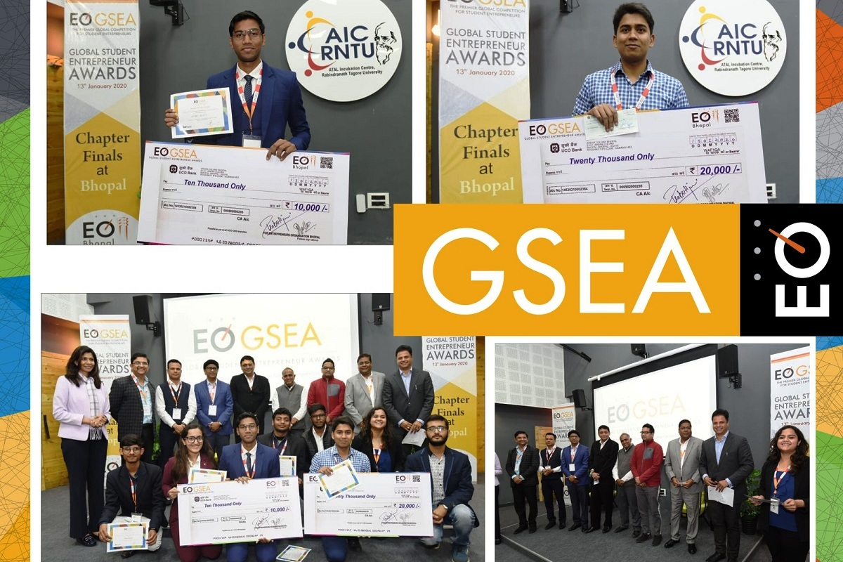 Entrepreneurs' Organization, Bhopal, Global Student Entrepreneur Awards 2021, GSEA 2021, Brazil, Canada, Japan, Mexico, Pakistan, South Africa, Spain, USA