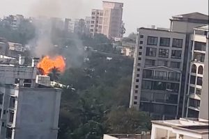 4 injured in Mumbai cylinder godown blast