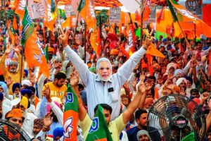 Narendra Modi congratulates BJP on winning performance in Gujarat local body polls