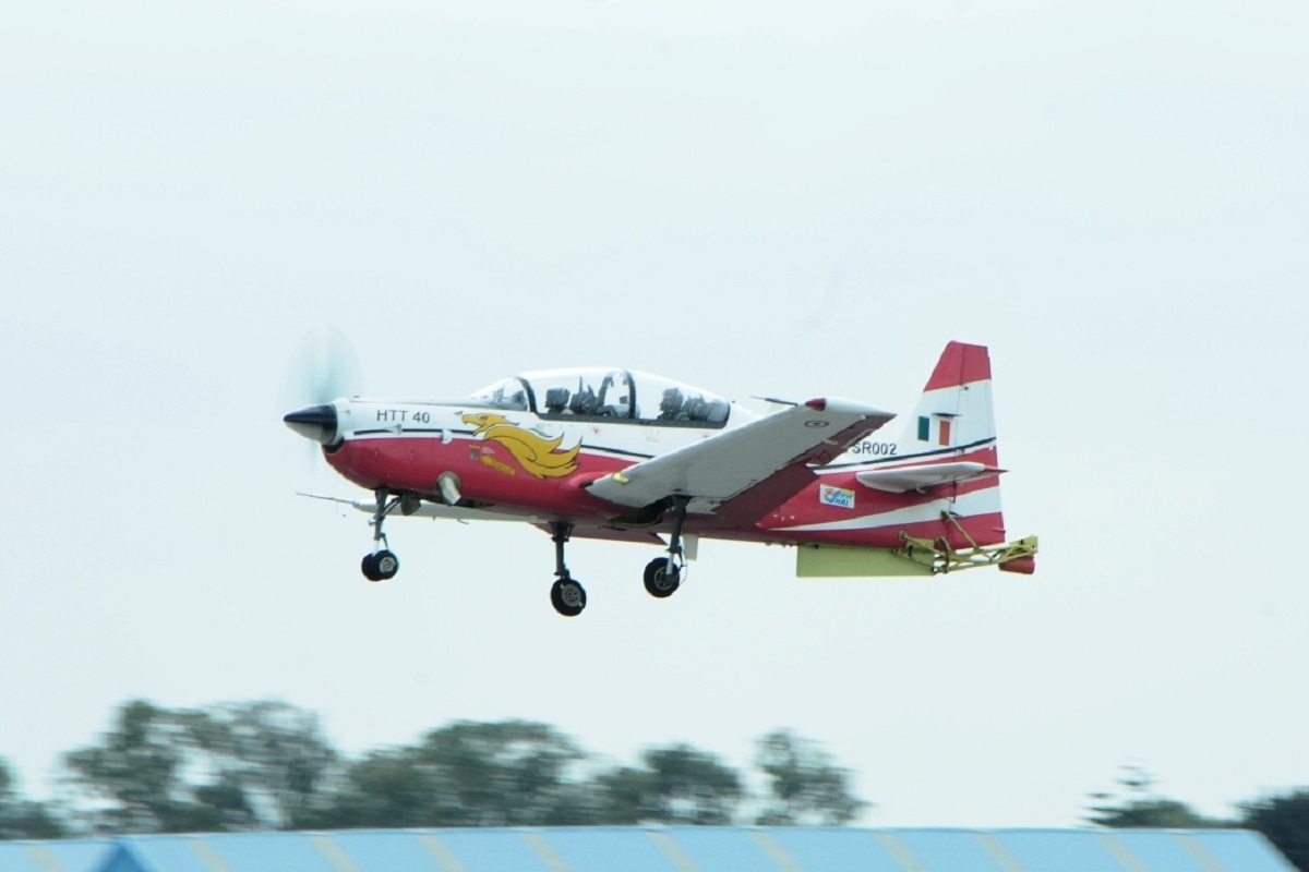 Aero India 2021, HAL, Proposalfor 70 HTT-40 Basic Trainer Aircraft, Indian Air Force, IAF, Aero India, Bengaluru