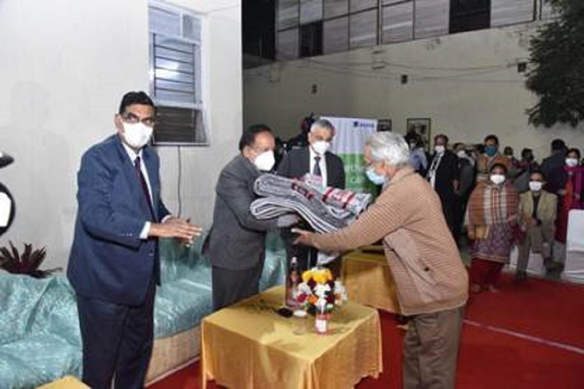 Harsh Vardhan, Vishram Sadan, AIIMS, COVID19, IRCS