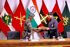 Indian Army signs MoU with Punit Balan's Indrani Balan Foundation for financial sustainability of Army Goodwill Schools of Kashmir