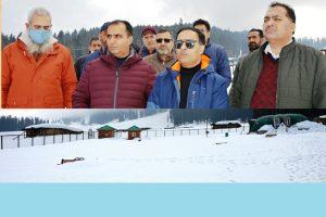 Director Tourism Kashmir, DDC Budgam visit Doodhpathri