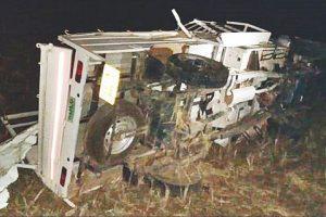 11 killed, several seriously injured as pickup van turns in Koraput, Odisha; PM expresses grief
