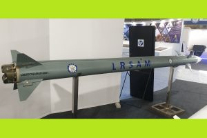 Flag off ceremony of final production batch of LRSAM Missiles