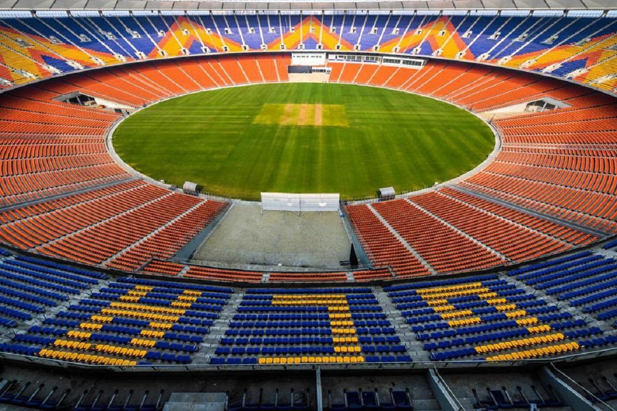 Sardar Patel Cricket Stadium In Motera Renamed Narendra Modi Stadium
