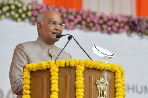 Matter of pride that Narendra Modi Cricket Stadium has become world's largest cricket stadium: President Kovind