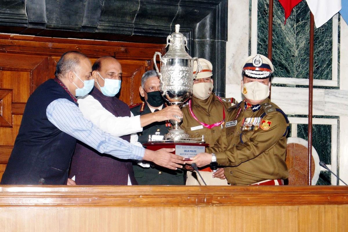 Republic Day Parade 2021, Jat Regimental Centre, Delhi Police, Rajnath Singh