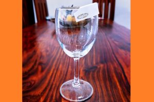 SIPPLINE: Protective shield between your lips and rim of glass for hygienic drinking at public places
