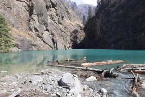U'khand flood: Artificial lake receding fast in Chamoli