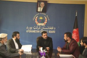 ACB signs contract for 2nd phase construction of stadium in Nangarhar