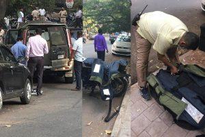 SUV with 20 gelatin sticks found dumped near Mukesh Ambani's house