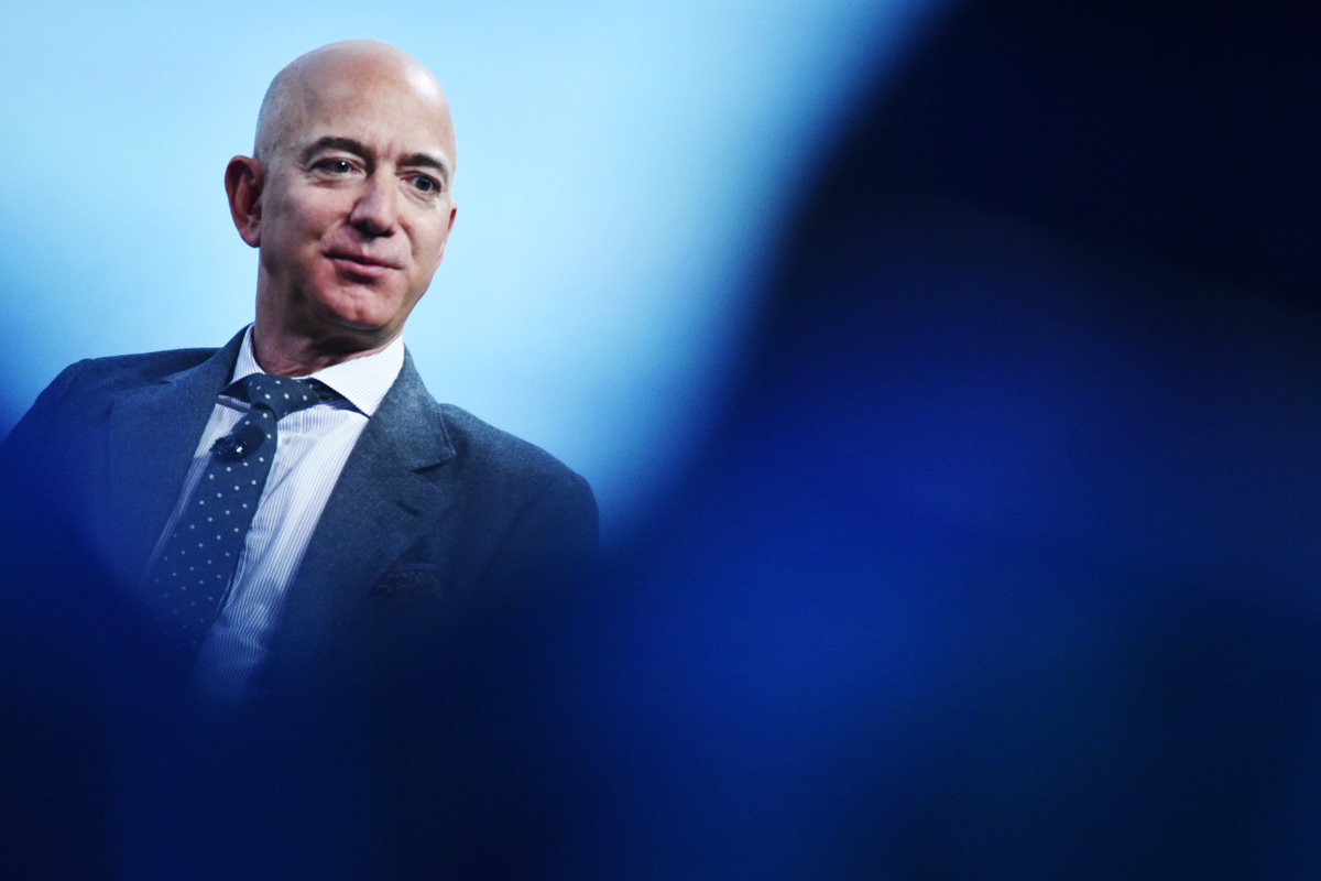 Jeff Bezos, Andy Jassy, Amazon CEO