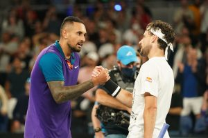 Australian Open: Dominic Thiem survives challenge from Nick Kyrgios; Novak Djokovic through