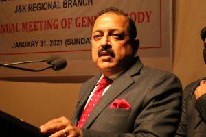 Jitendra Singh calls for good governance in J&K