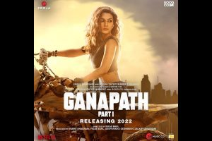 Kriti Sanon, Tiger Shroff reunite for 'Ganapath'