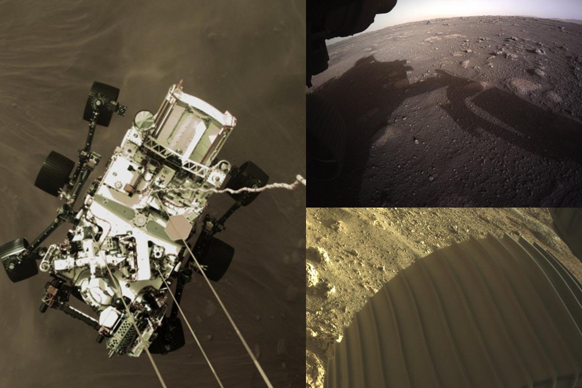 NASA, colour images, Mars, selfie