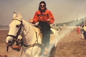 Raveena Tandon is more comfortable on a horse than motorcycle
