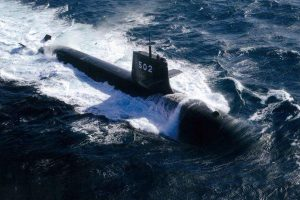 Japanese submarine seriously damaged in collision: Officials