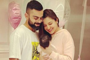My whole world in one frame: Virat Kohli on pic with wife & baby