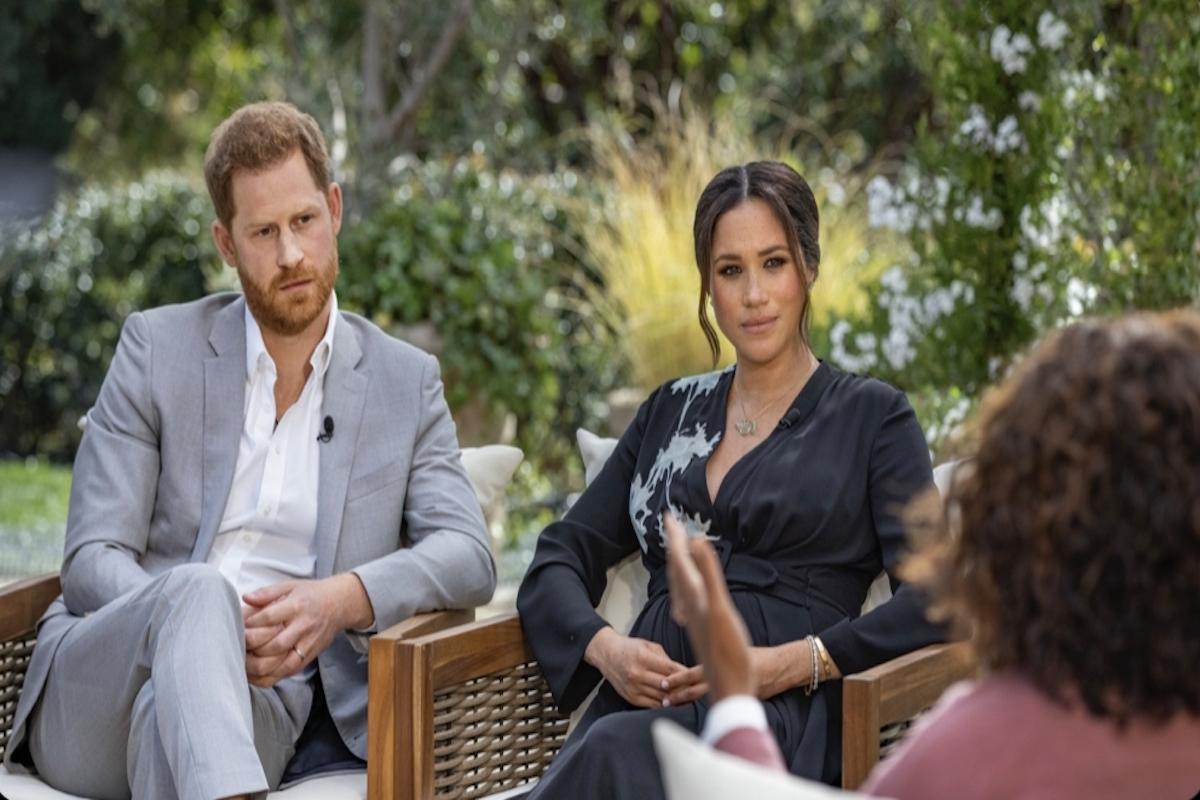 Meghan Markle, Prince Harry, Oprah Winfrey, British royal family, dark skin,