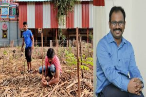 IAS officer turning Chennai green using Japanese foresting technique