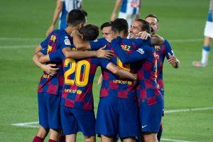 Barcelona overcome first-leg deficit to beat Sevilla in Copa del Rey semifinals