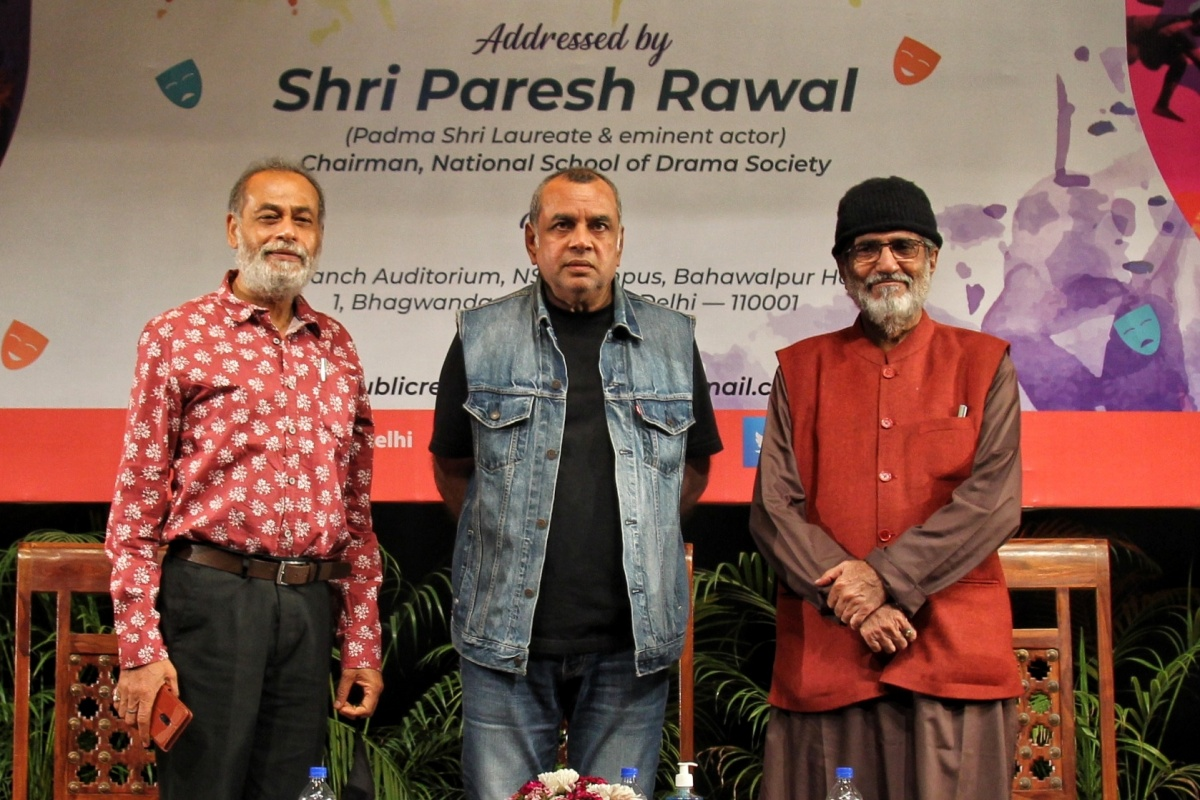 NSD, Institute of national importance, Paresh Rawal