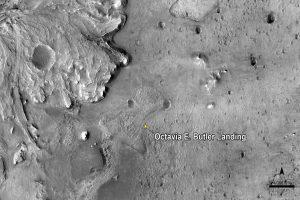 NASA names Mars rover touchdown site after Octavia Butler