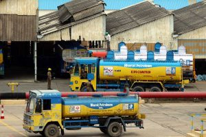 BPCL shares traded higher after company announces stake sale in Numaligarh refinery