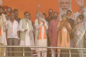 Trinamul's khela is over, says Modi